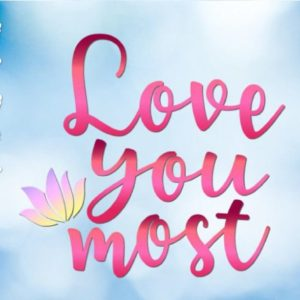 Love You Most SVG More Just Married Romantic Quote Honeymoon Clipart