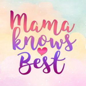 Mommy and Me SVG Mama Knows Best Mamas Bestie Mom Quote Onesie Bodysuit Tee Print