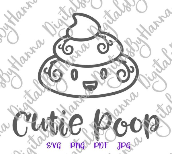 Poop Emoji SVG Bag Dog Mom Pet Lover Clipart Print Sublimation Graphics Gag Gift