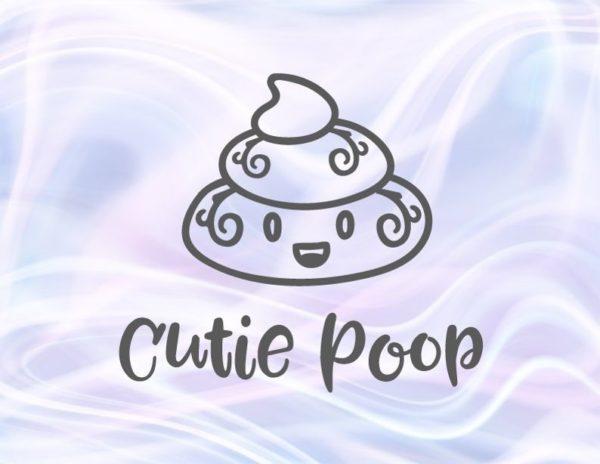 Poop Emoji SVG Cute Dog Poop Bag Sign Dog Mom Pet Lover Funny Toilet Clipart Laser Cut