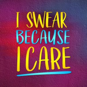 Sarcastic SVG Maybe Swearing Will Help Funny Quote Sign t-Shirt Cut Print Clipart