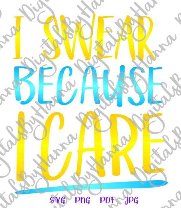 Sarcastic SVG Maybe Swearing Will Help Funny tShirt Mug Office Cut Print Sublimation