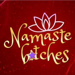 Sarcastic SVG Namaste Bitches Yoga Funny Quote t-Shirt Tee Tumbler Mug Cup Print