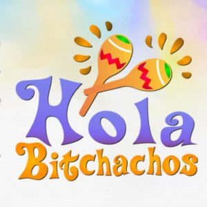 Cinco de Mayo Hola Bitchachos Mexican Fiesta Maracas Quote Bitch Clipart