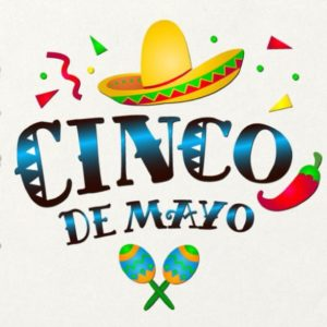 Cinco de Mayo Mexican Fiesta Sombrero Maracas Clipart Celebrate t-Shirt Print Sublimation Cut