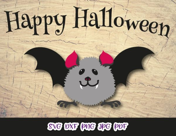 Cute Baby Bat Clipart My First Party Outfit Print Tee Onesie Cut Sublimation Sign