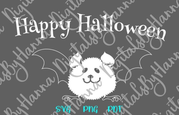 Halloween Cute Baby Bat Clipart My First Party Outfit Quote Letter Print Tee Onesie Cut Sublimation Sign