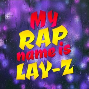 Sloth SVG My Rap Name is Lay-Z Funny Quote Lazy Gangsta Rapper tShirt Cut Print Sublimation