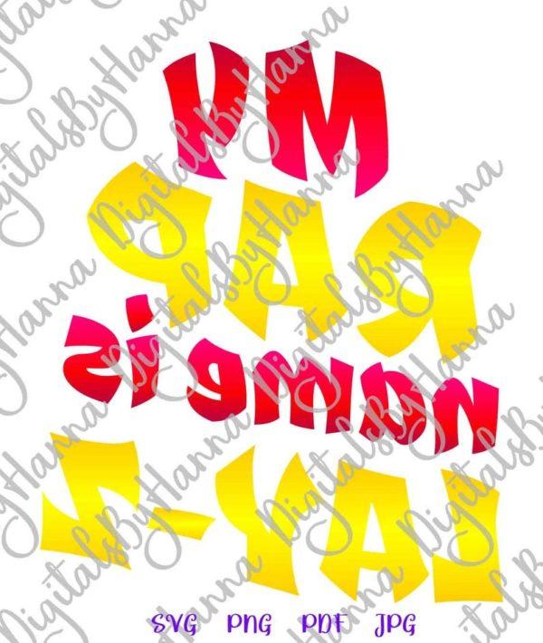 Sloth SVG Saying My Rap Name is Lay-Z Funny Quote Lazy Gangsta Rapper tShirt Tee Mug Cut Print Sublimation