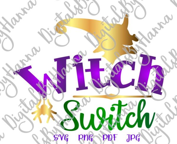 Witch Switch Spider Head face Hat Print tee Tumbler Outfit Tote Bag Sublimation cut